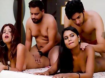 Desi Housewife Interchange And Having Swinger Sex In Hindi